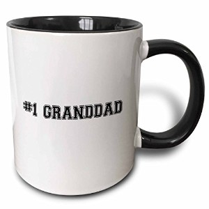 3dローズInspirationzStoreタイポグラフィ – # 1 Granddad – Number One祖父のWorlds Greatest and Best Grandpas –...