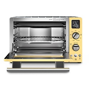 "KitchenAid KCO275MY Convection 1800W Digital Countertop Oven 12"" Majestic Yellow KitchenAid..."