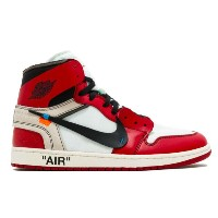 NIKE x VIRGIL ABLOH OFF-WHITE THE 10 NIKE AIR JORDAN 1 メンズ White/Black/Varsity Red ナイキ オフホワイト 限定商品...