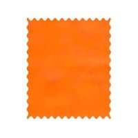 SheetWorld Flannel - Orange Fabric - By The Yard by sheetworld