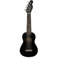 Fender / Venice Soprano Ukulele Black [California Coast Series] ウクレレ ソプラノ