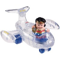 Fisher-Price Little People DC Super Friends Wonder Woman Invisible Jet [並行輸入品]