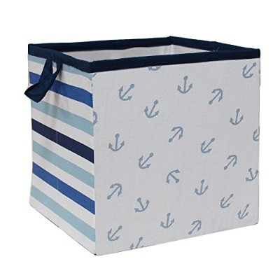 Bacati Little Sailor Storage Box, Small by Bacati