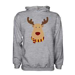 Motherwell Rudolph Supporters Hoody (grey)