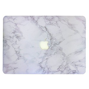 "Macbook air 13.3 inch hard PC marble pattern case DIGIC high Protection anti-dust macbook case for apple air 13"" (A1369 and A1466) laptop (white marble)"