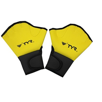 TYR(ティア) ELITE FITNESS GLOVES LFIT イエロー FREE