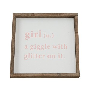 GIRL DEFINITION SIGN