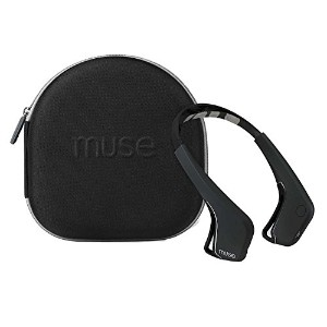 【Muse専用ケース付】 ●Muse 脳波計 ヨガ用、集中力、瞑想に最適な脳センシングヘッドバンド : The brain sensing headband with case.with case....