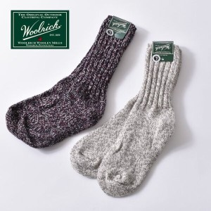 ★50%OFF♪SALE!Made in USA【WOOL RICH】ウールリッチBIG WOOLY SOCKS ビッグウーリーソックス全2色[ゆうパケット対応]