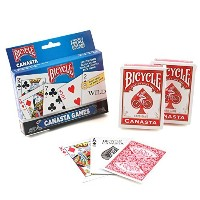 Bicycle Canasta Games Playing Cards [並行輸入品]