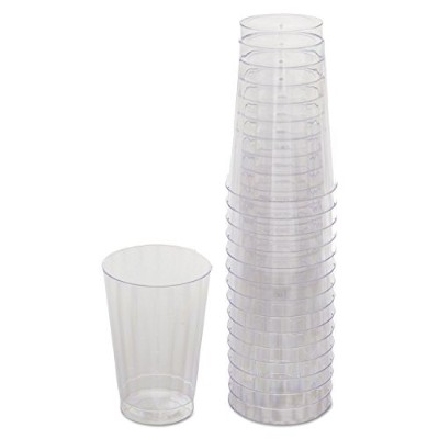 * Classicware Tumblers、12オンス、プラスチック、クリア、16 /バッグ