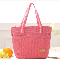homieco ™ Large Recycled Insulatedランチトートクーラーバッグfor KidsメンズGirls ピンク PETWALB13R