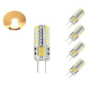 lamsky t3t4t5gy6.35g6.3512V 120V LEDライト電球 3W 12V 4-Pack LC050-WW