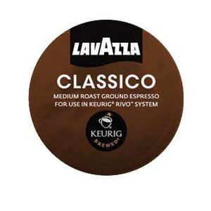 Lavazza Espresso Classico for Keurig Rivo System,2-18 packs 36-0.26oz by Lavazza