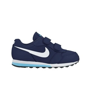 NIKE MD RUNNER 2 (PSV) (ナイキ MD ランナー 2 PSV)(BINARY BLUE/WHITE-VIVID SKY-BLACK)【キッズ 子供 スニーカー】17SP-I