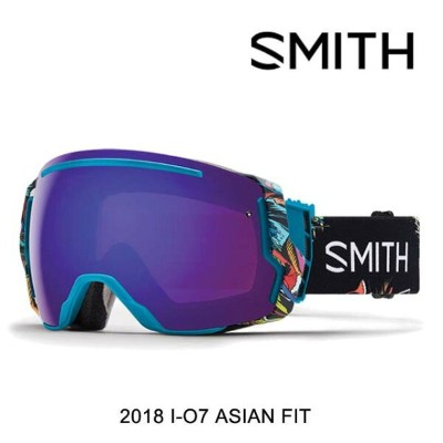 2018 SMITH スミス ゴーグル GOGGLE I/O7 BSF/CHROMAPOP EVERYDAY VIOLET MIRROR+CHROMAPOP STORM ROSE FLASH...