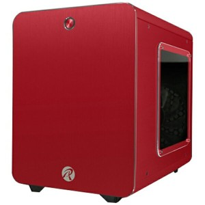 RAIJINTEK 0R200056 METIS PLUS Red アルミニウム製Mini-ITXケース レッド