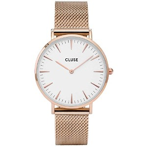CLUSE CL18112 ROSE GOLD/WHITE WATCHES LA BOHEME MESH レディース 腕時計 プレゼント 時計 クルース