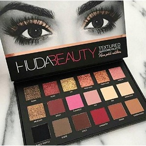 Huda Beauty | Textured Shadows Palette Rose Gold Edition