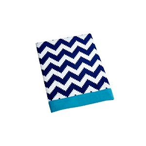 Happy Chic Baby Jonathan Adler Party Whale Blanket, Blue/White by Happy Chic Baby Jonathan Adler