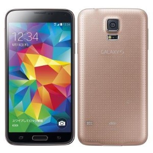 SAMSUNG GALAXY S5 SCL23 champagne PINK