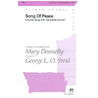 Mary Donnelly: Song Of Peace (2-Part/Piano). Partitions pour Choeur En 2-Parties, Accompagnement...