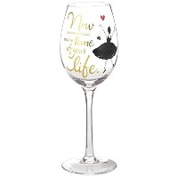 Time of Your Lifeワインガラス、15.8 Oz Wine Glasses