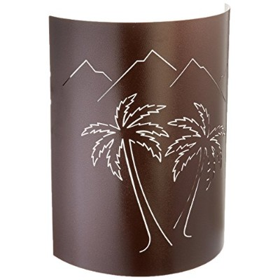 Jelly Jar照明mp-cc-042 Copper Canyon Finished Sconce with a copper canyon Shade