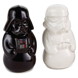 Hallmark Star Wars Stormtrooper and Darth Vader Salt and Pepper Shakers