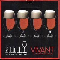 Riedel Vivantのセット4 Belgian Ale Glasses
