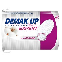 Demak'Up Duo+ - Oval Cotton Pads for Removing Make-Up (4 Packs of 50 each) by DemaK'Up