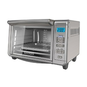 BLACK+DECKER TO3280SSD Convection Toaster Oven, Platinum by BLACK+DECKER