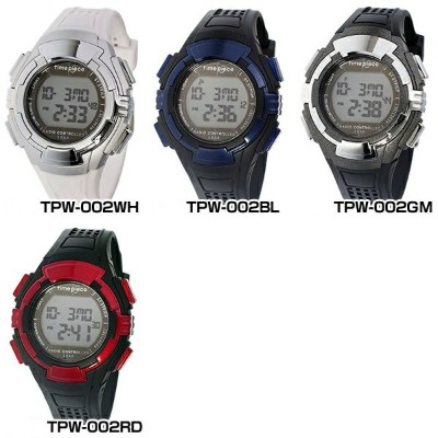 Time Piece タイムピース多機能 電波 ソーラー クオーツ TPW-001TPW-002BKTPW-002WH TPW-002BLTTPW-002GMTPW-002RD国内正規品 男女兼用...