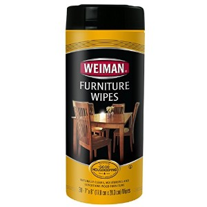 Weiman Furniture Wipes, 30 count by Weiman