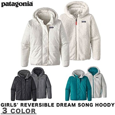 PATAGONIA パタゴニア GIRLS' REVERSIBLE DREAM SONG XL BLK