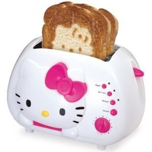 Hello Kitty KT5211 2-Slice Wide Slot Toaster with Cool Touch Exterior [並行輸入品]