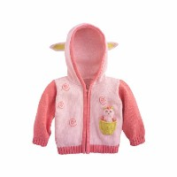 Joobles Organic Baby Cardigan Sweater - Cutie the Lamb (6-12 Months) by Joobles