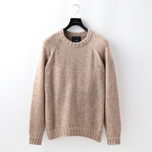 SALE【GUILD PRIME ギルドプライム】 【08sircus】MENS KNIT/S17AM-KN02 ピンク メンズ