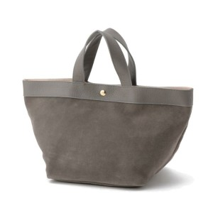 【LE JOUR ル ジュール】 【CACHELLIE】COW LEATHER & SUEDE TOTE グレー系 レディース