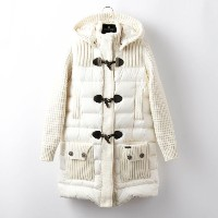 SALE【GUILD PRIME ギルドプライム】 【Bark】WOMENS LONG DUFFLE COAT/62BD9007 ホワイト レディース