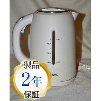 クラップス FLF2-J1 コードレス 電気ケトル ホワイトKrups FLF2J1 Cordless Electric Kettle, White and Stainless Steel