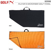 プーマ PUMA PLAYER'S MICROFIBER GOLF TOWEL 52998 USA直輸入品 ORANGE