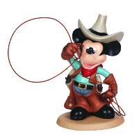 Precious Moments Disney Showcase Disney Cowboy Mickey
