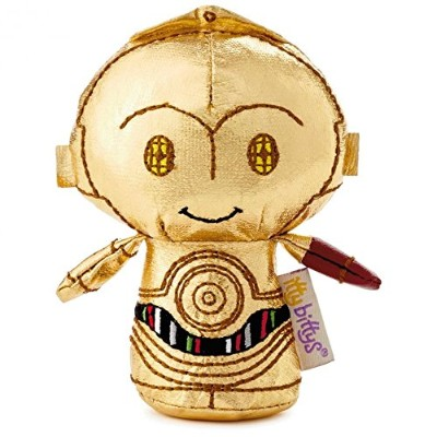 Hallmark Itty Bittys C3PO with Red Arm Limited Edition New with Tag's
