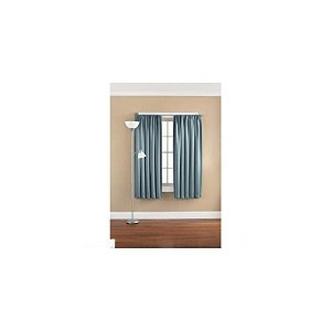 Mainstays Solid Room Darkening Curtain Panel Heritage Blue W 54 By L 95 by Mainstays