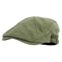 "WITHMOONS キャスケットハンチング帽 Modern Cotton ""REAL;"" Newsboy Hat Flat Cap AC3045 (Green)"
