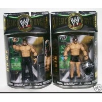 Jakks Pacific, WWE Classic Superstars Series 9 Action Figures, Animal & Hawk Bundle Set of 2