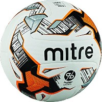 Mitre Ultimatch Hyperseam # 4WHT / ORG / BLKサッカーボール