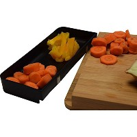 Kitchen Academics - Prep to Pot Bamboo Chopping Board with Side Tray