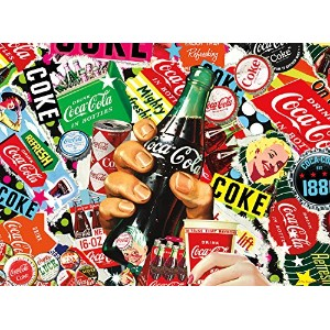 【[バッファローゲーム]Buffalo Games Coke Is It! 1000Piece Jigsaw Puzzle by Puzzle 11266 [並行輸入品]】 b01lwxjv41